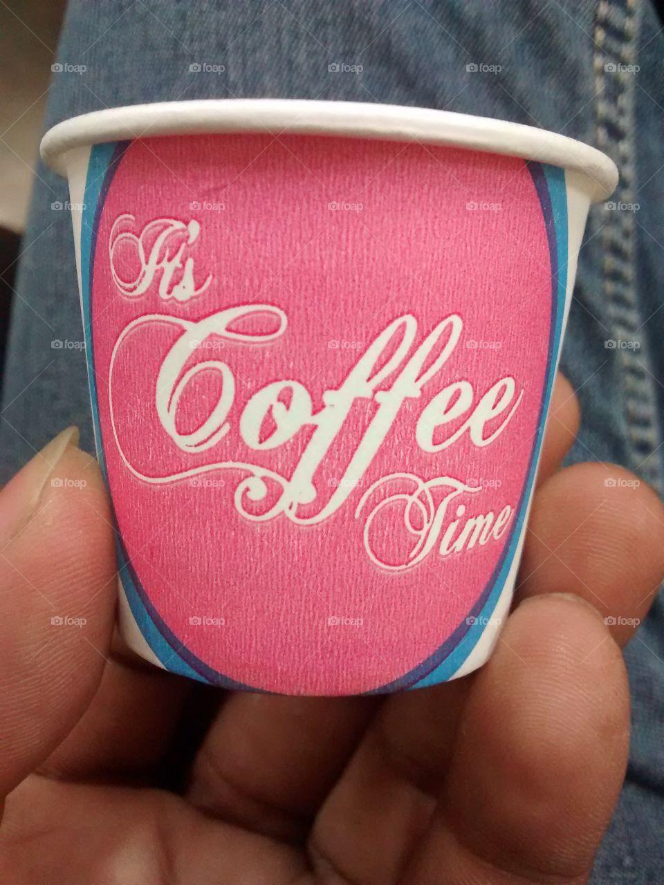 pink beauty tea cup