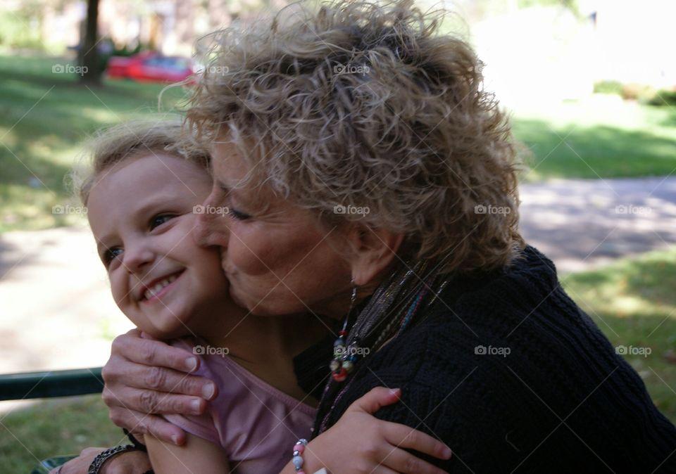 Grandma's Kiss