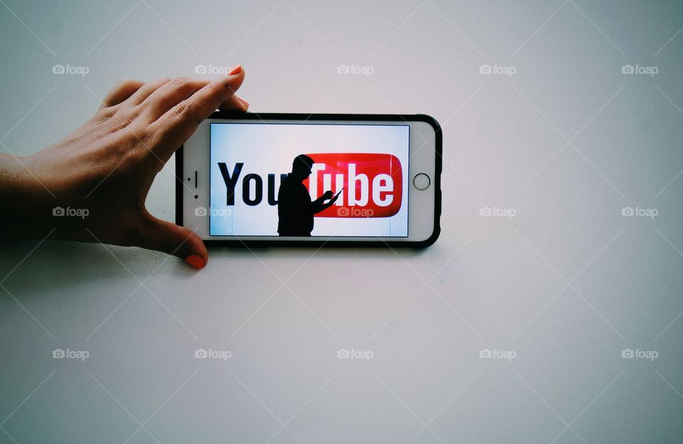 Watching YouTube on mobile device over Internet connection