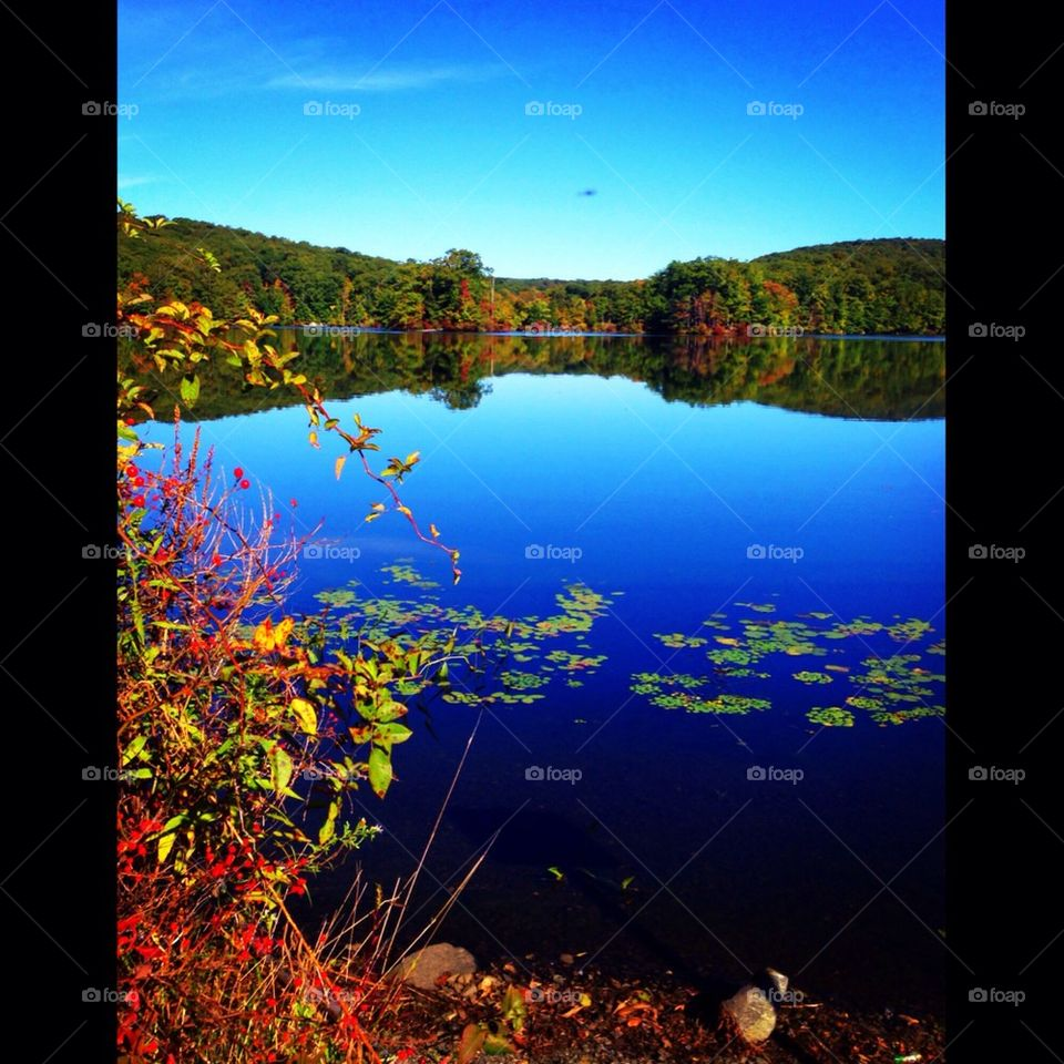 sky color water lake by tncobb
