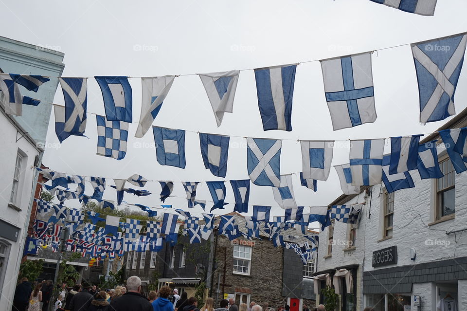 Padstow May Day Flags