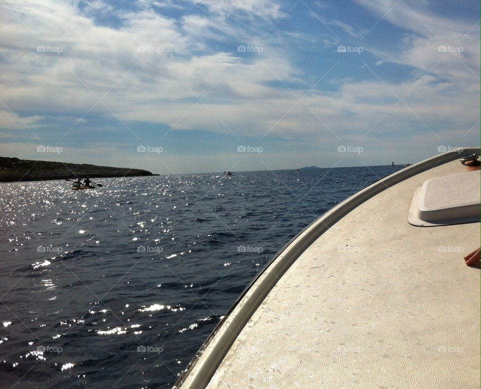 Beautiful Vis island. Croatian island. Amazing cristal clear water...🏊🏼
