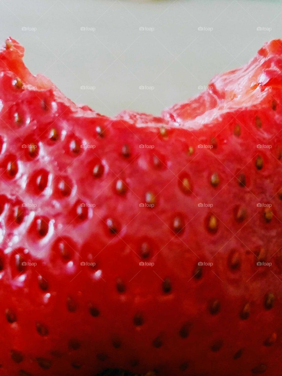 Strawberry Close-up