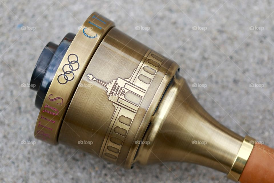 los Angeles olympic torch