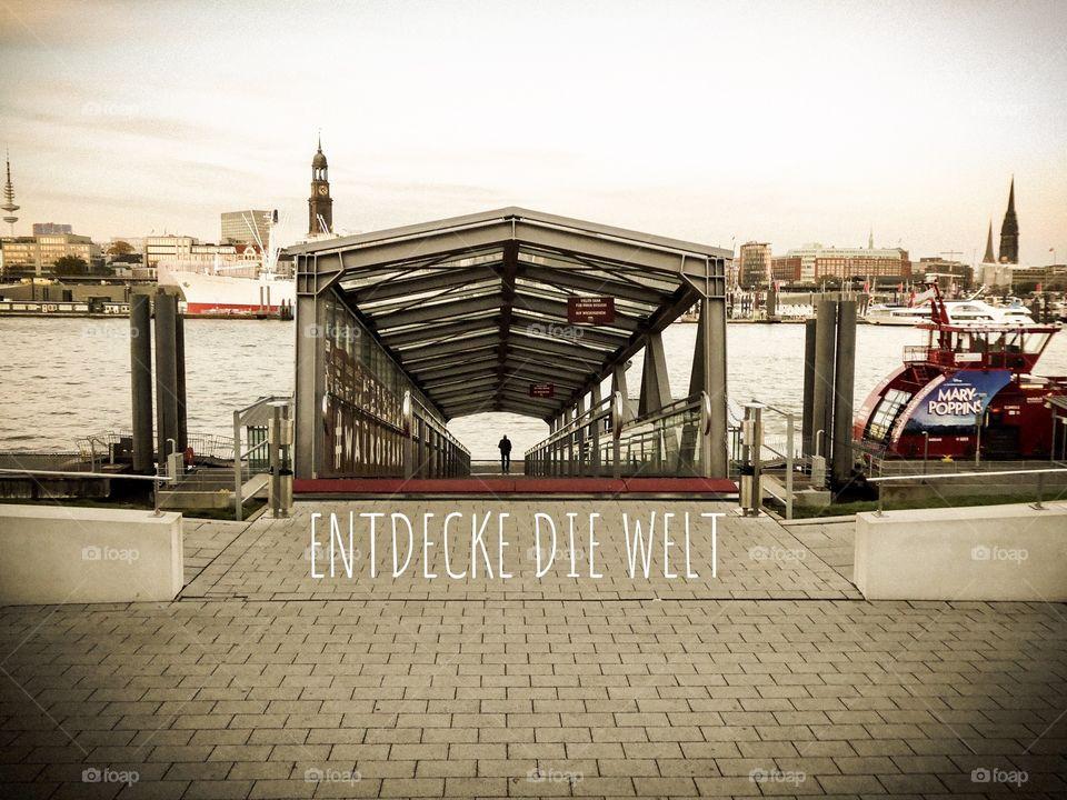 Entdecke die Welt / discover the world