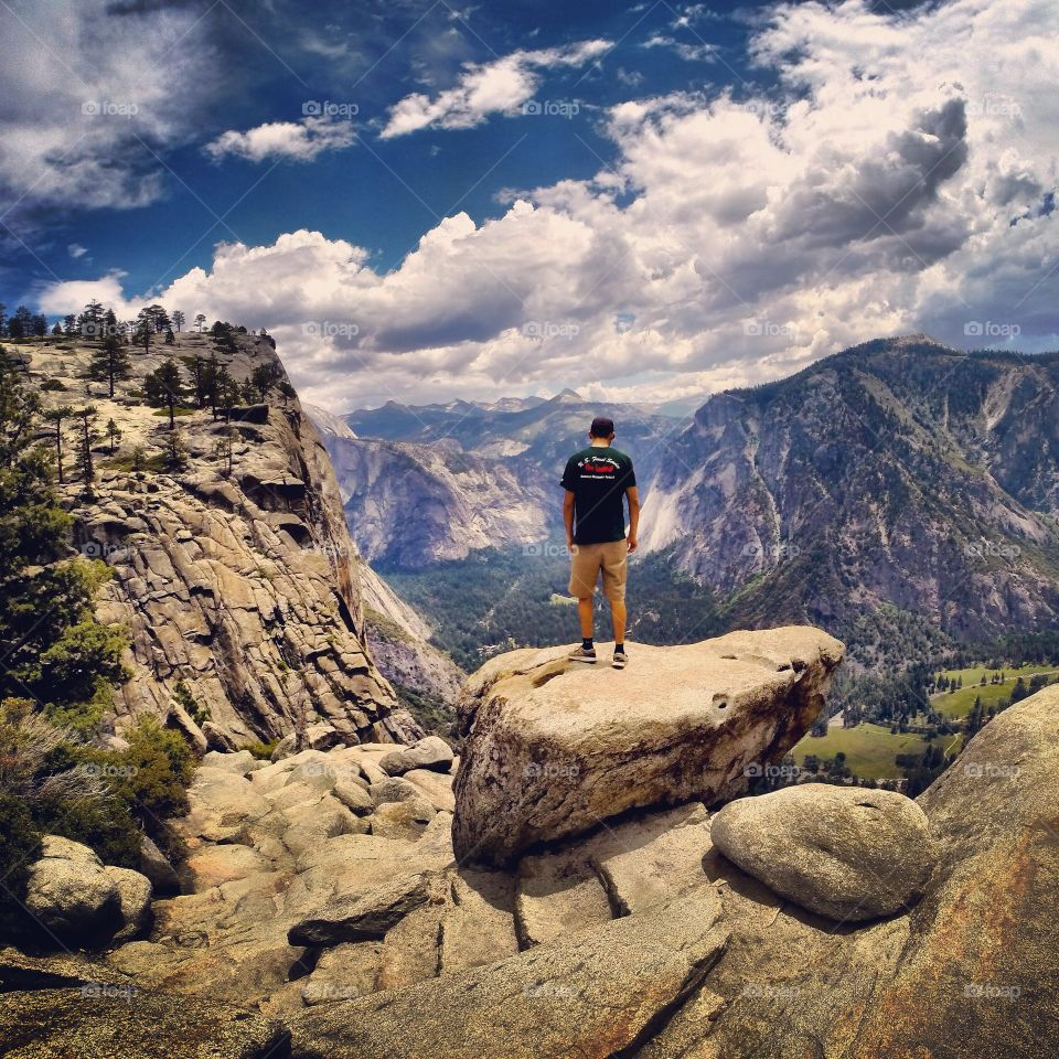 Made to the top of Yosemite Falls