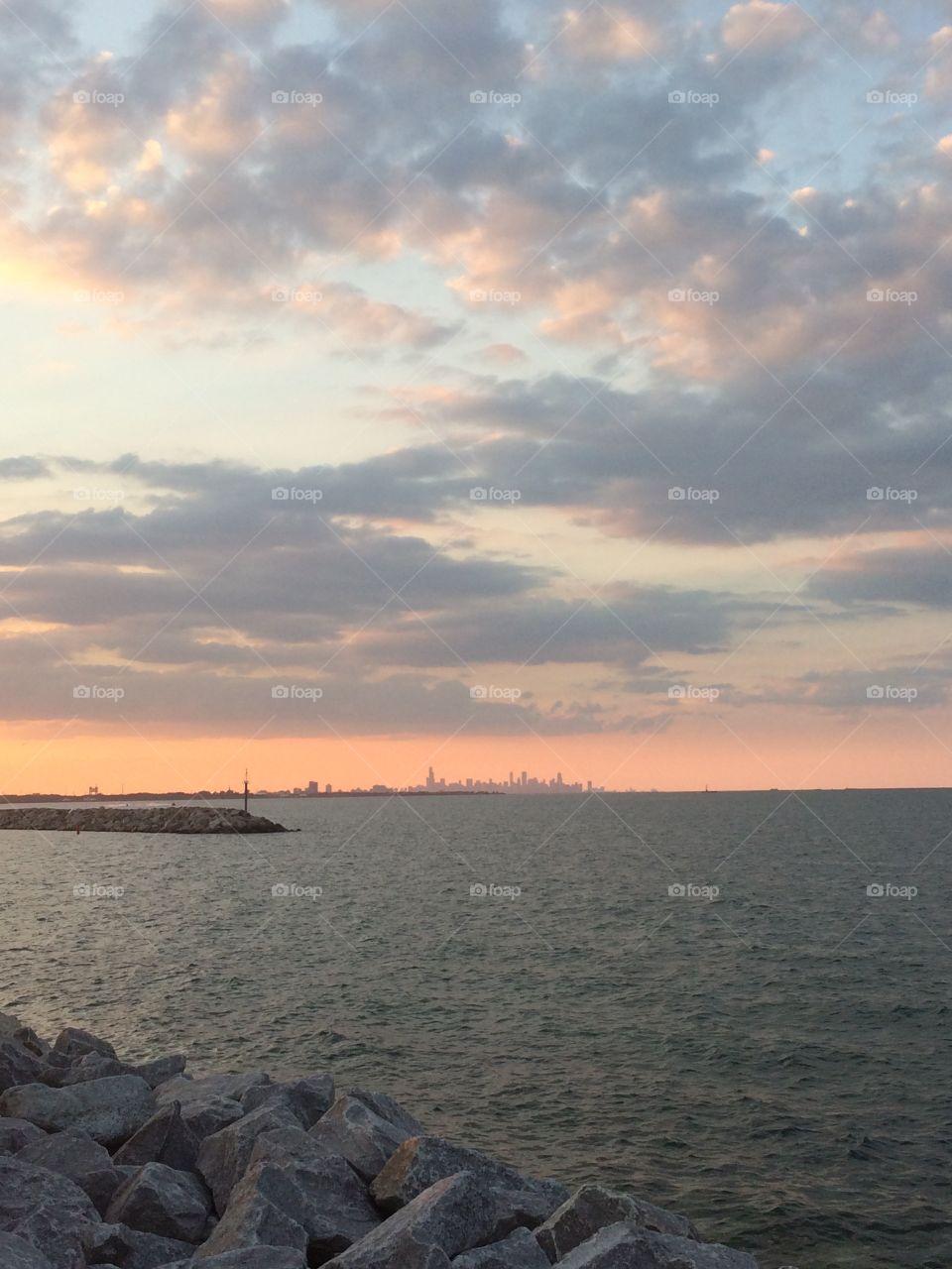 Skyline featuring Chicago