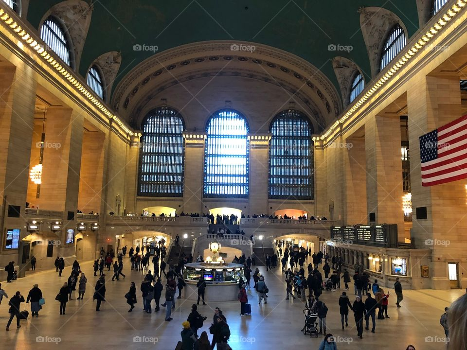 Grand central at its finest
