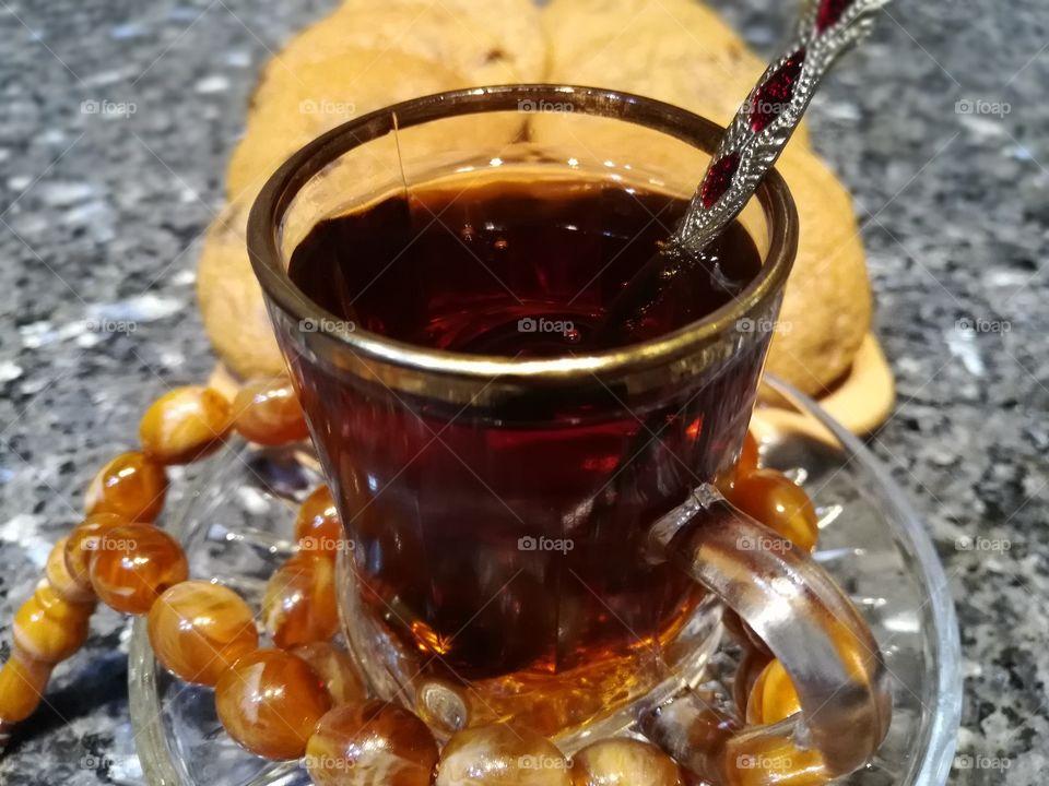 Hot sweet tea 🍵