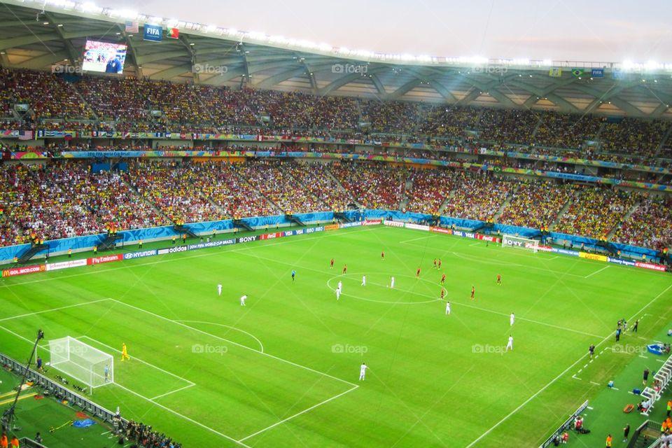 USA versus Portugal in Manaus