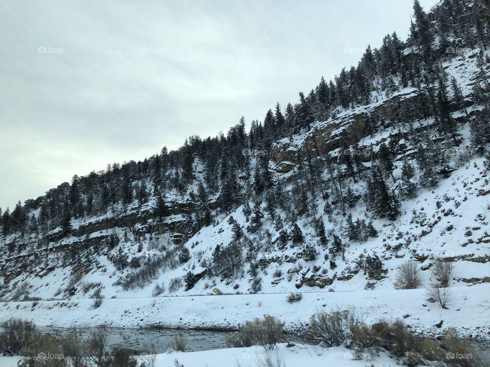 A cold and powdery winter road trip through Colorado.