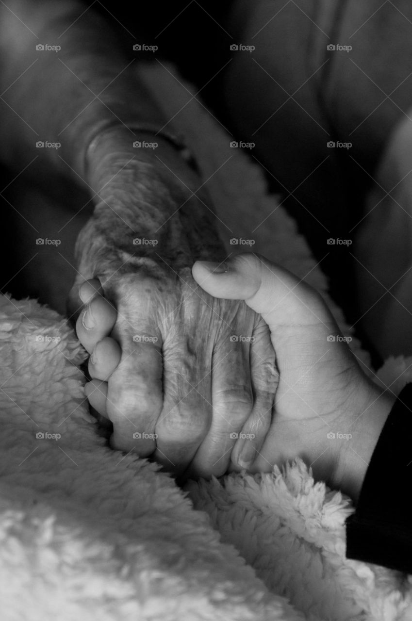 Holding Granny's Hand