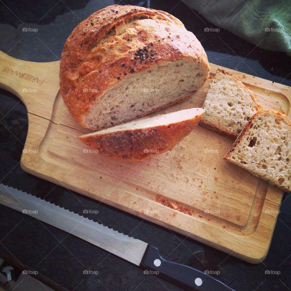 Parmesan Pepper Bread