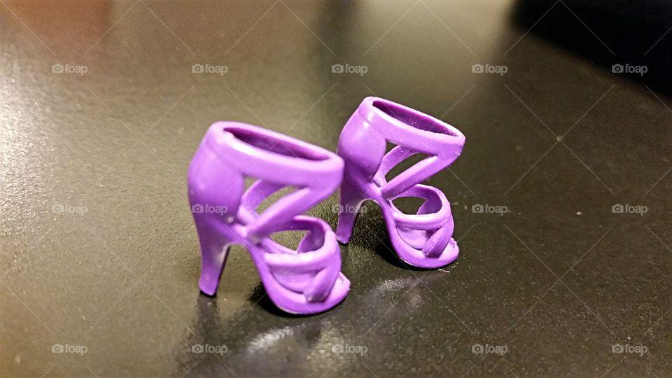 Purple Party Shoes!