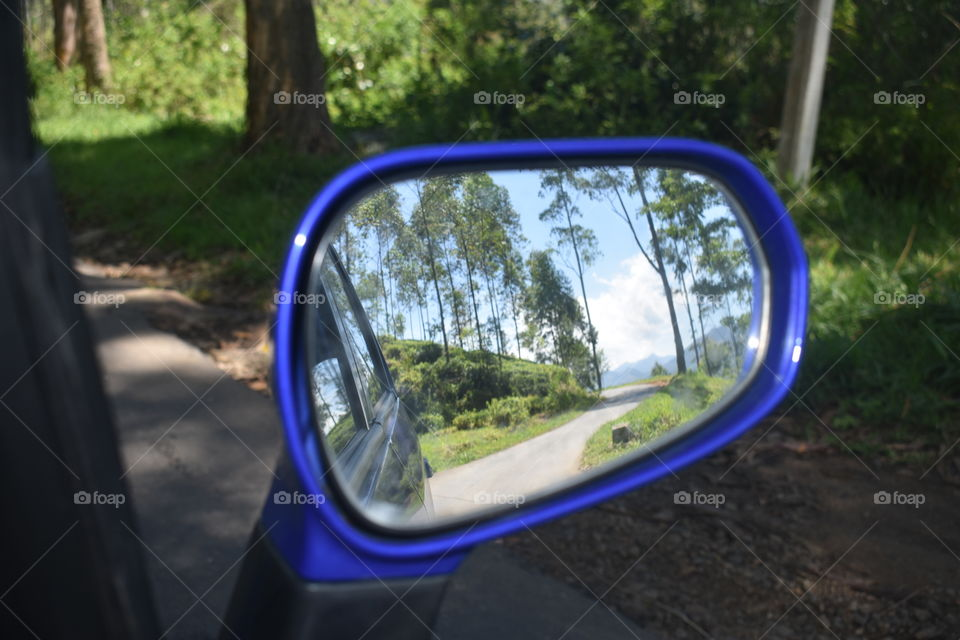 Side mirror view #beautiful