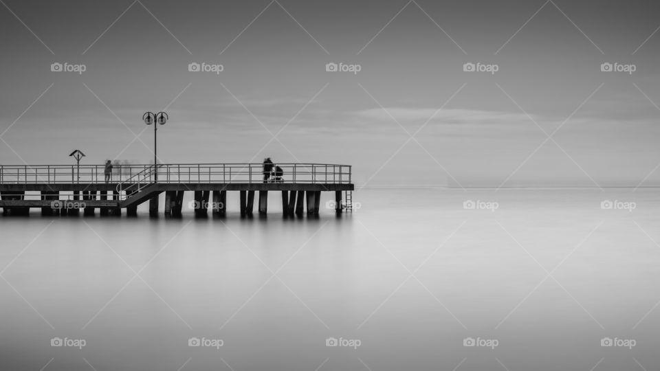 Redlowo pier