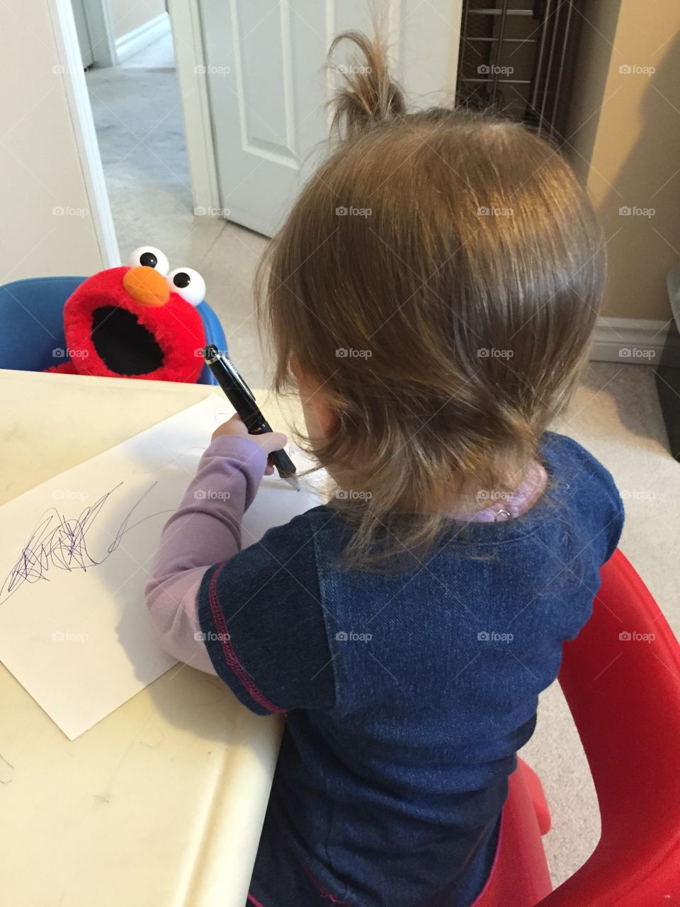 Drawing In The Playroom