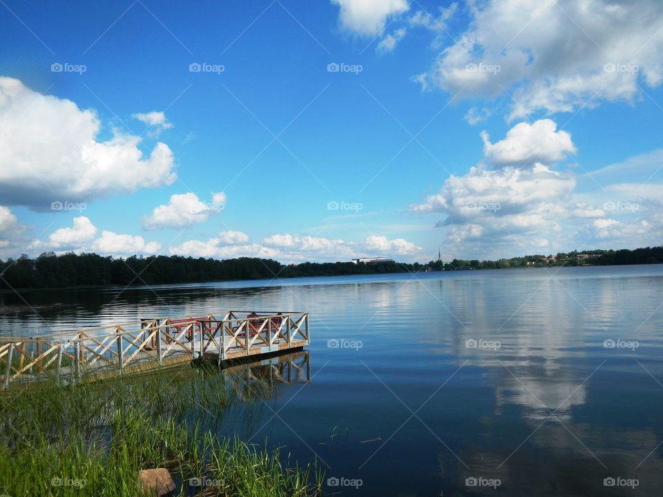 Vaxjo Lake Sweden