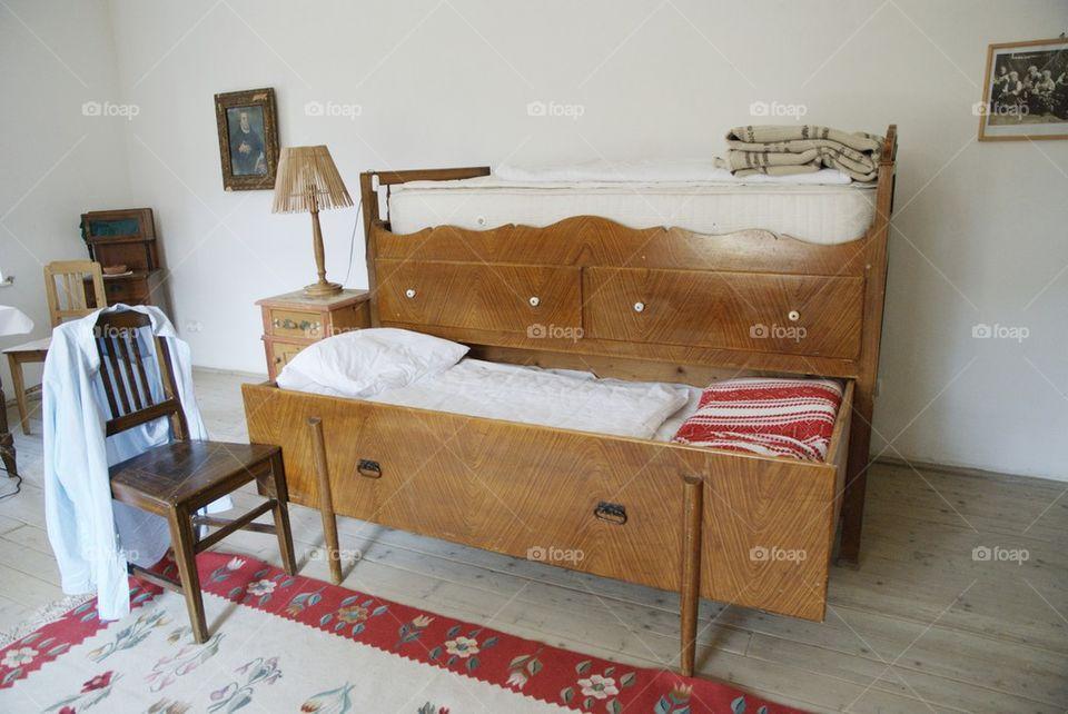 Typical sakon bed