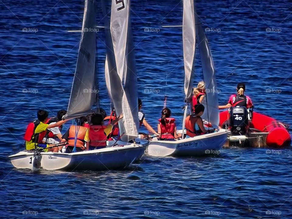 Go Sailing. Port Moody Sailing Class