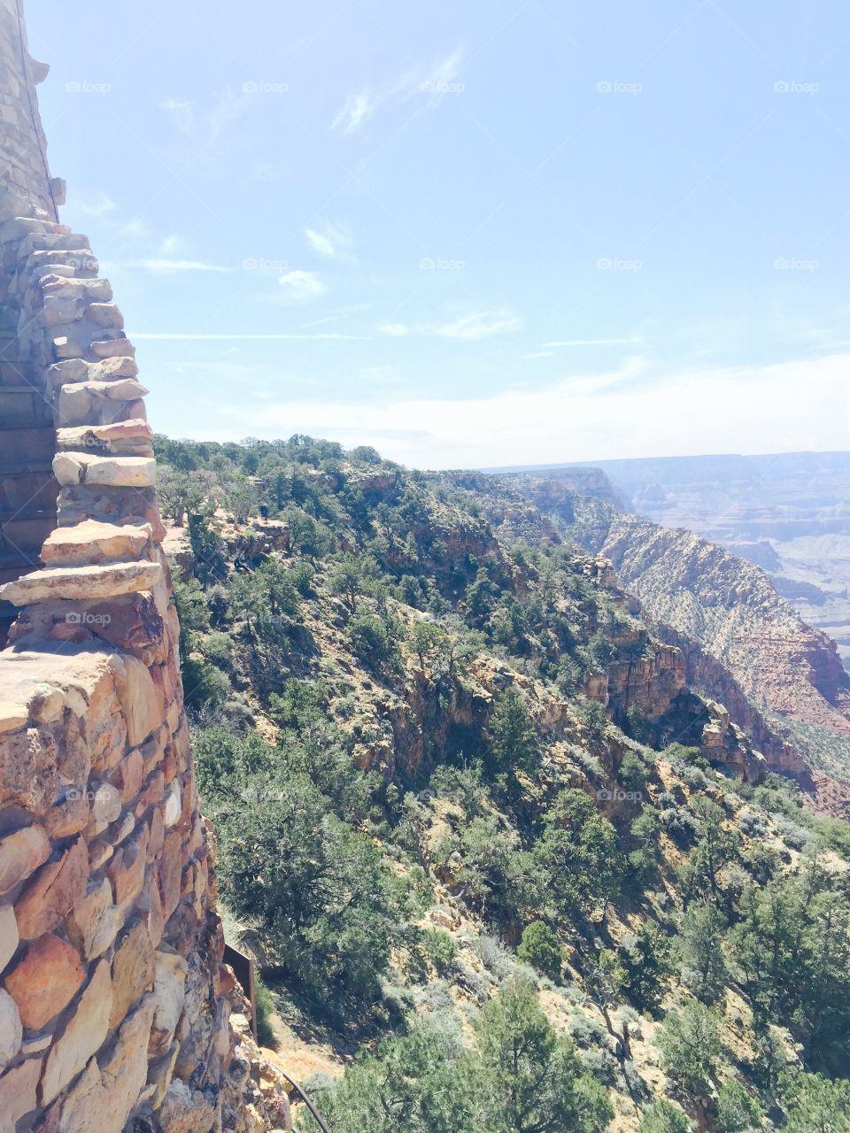Desert view tower. South rim Grand Canyon