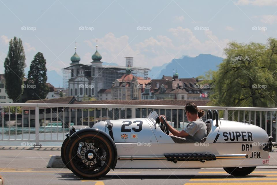 Morgan 3-Wheeler. Morgan 3-Wheeler