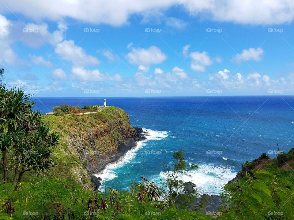 Light house at Kauai