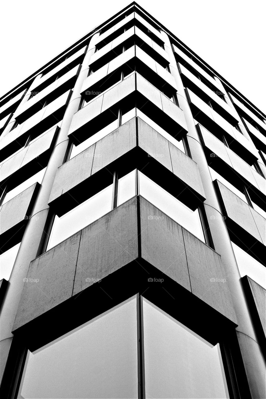 construction buildings lines contrast by olijohnson