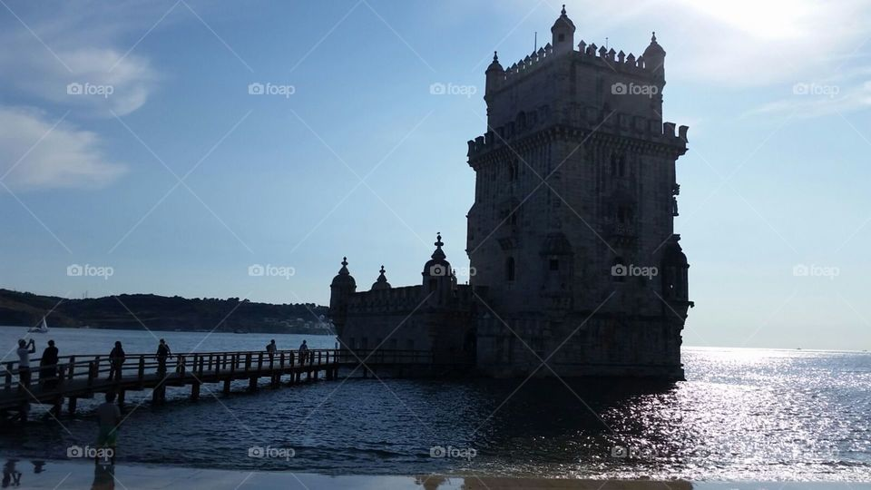 Torre de Belem tower at Lisbon