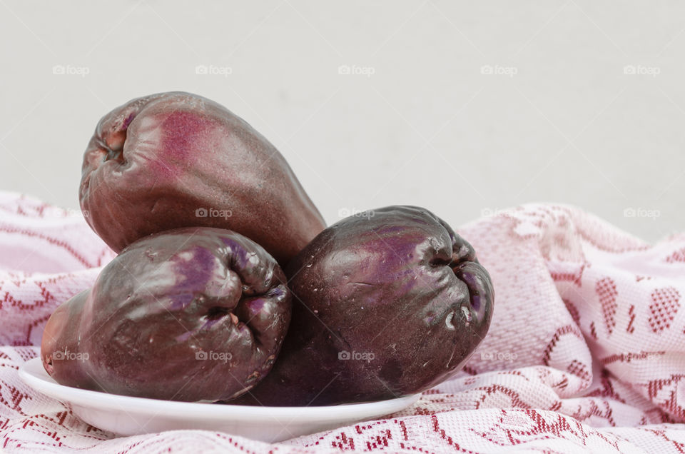 Purple Ripe Otaheite Apples Indoor