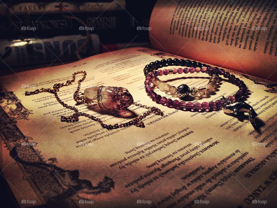 Stuff from the table in the morning dusk... . 'My Witchy things'))