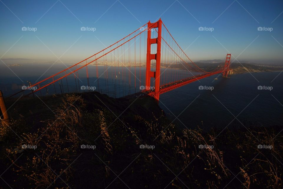 Golden Gate Bridge San fransisco SFO California USA