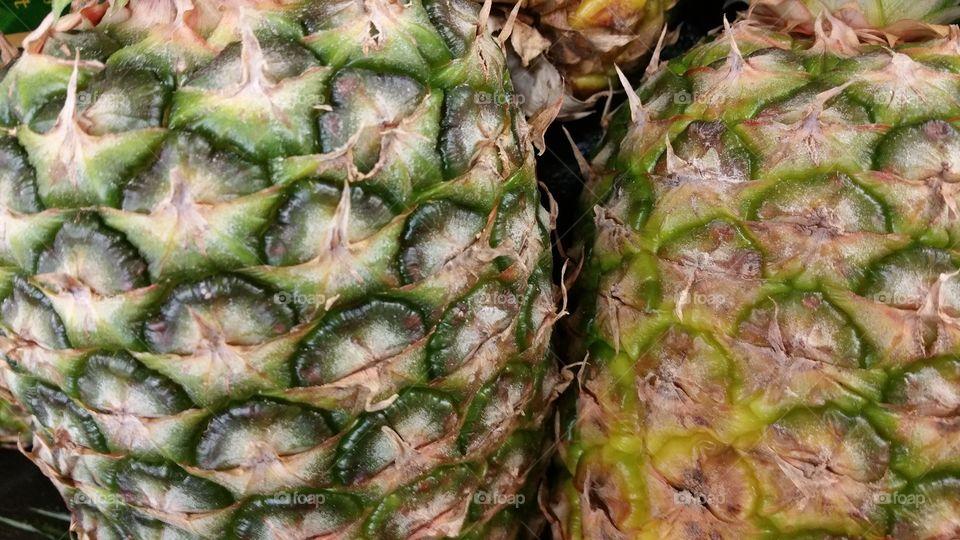 Pinapple Close Ups
