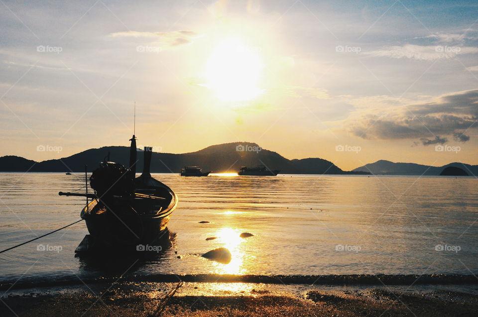 Set sail at dawn. Phuket, Thailand.  Check my channel for more pics.
