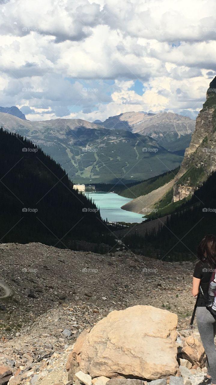 Banff lake louise AB