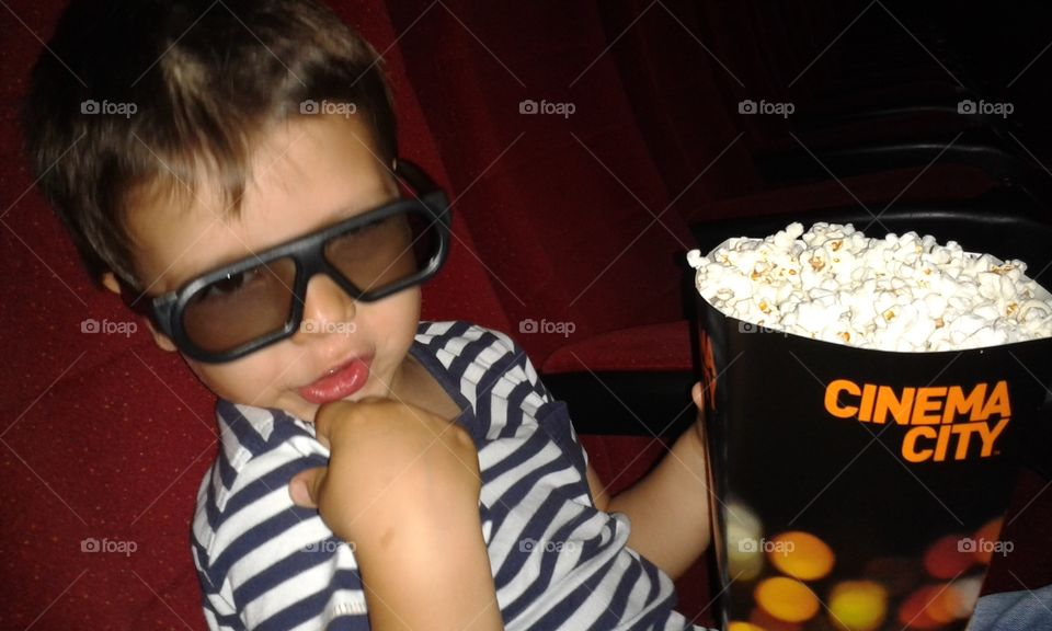 first time at the cinema