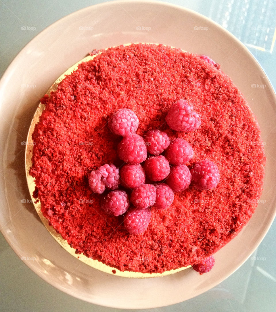 red sweet love pie by aga