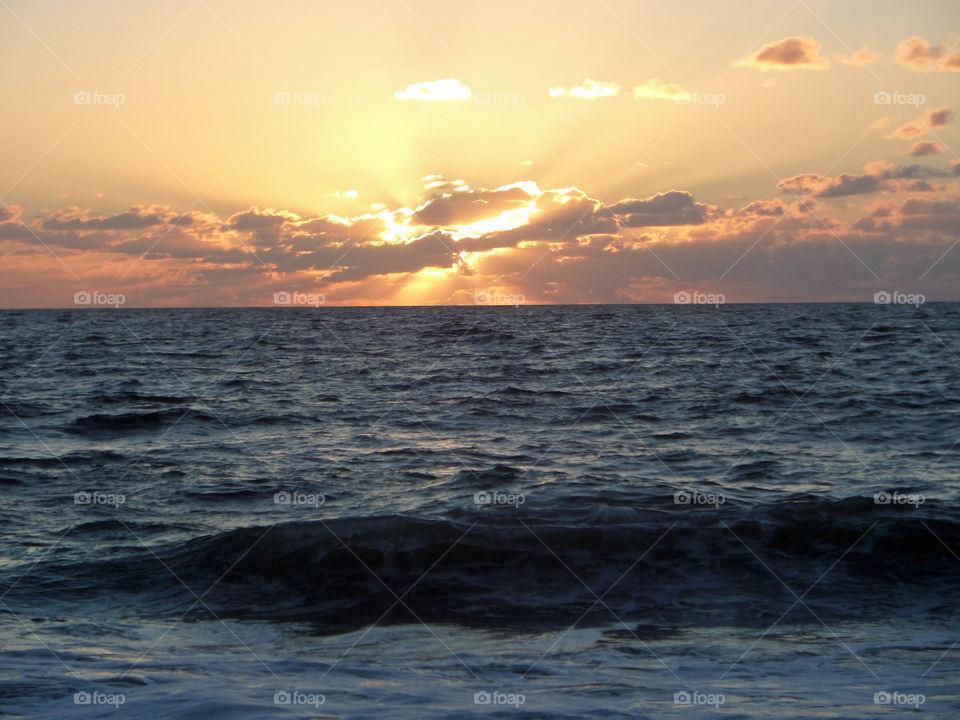 sunriserays on the beach