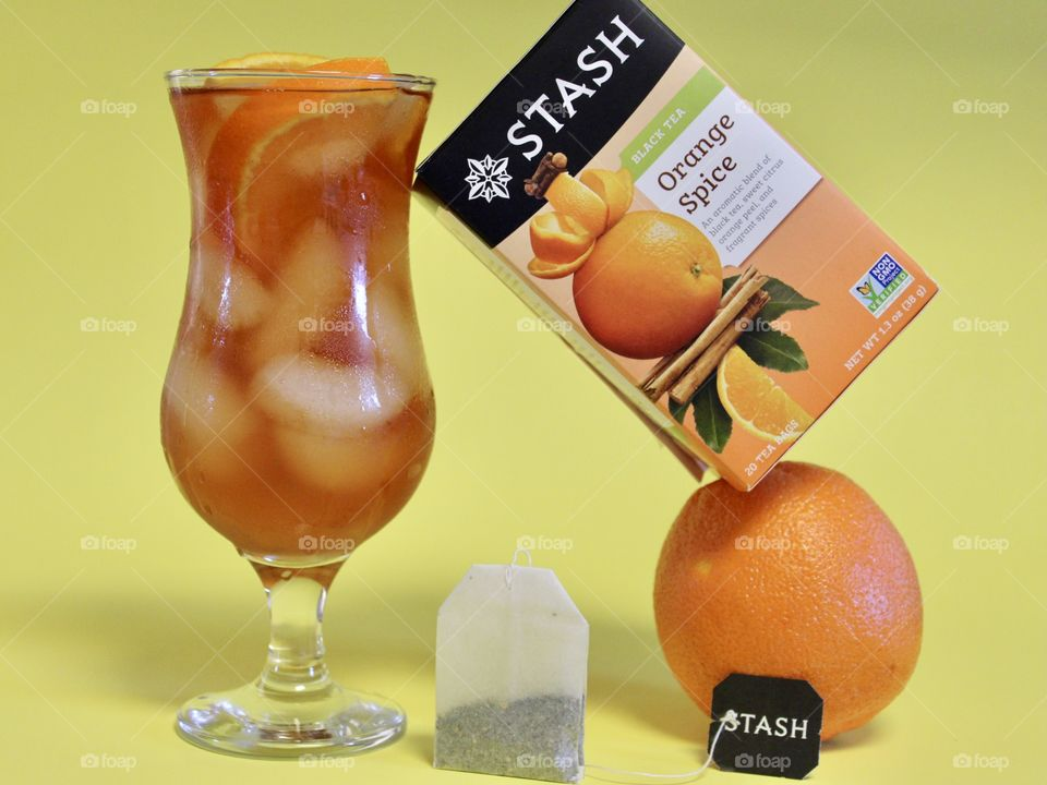 Summertime with Stash Teas Orange Spice 2