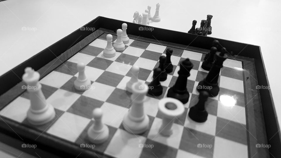 White wins. Training your mind.