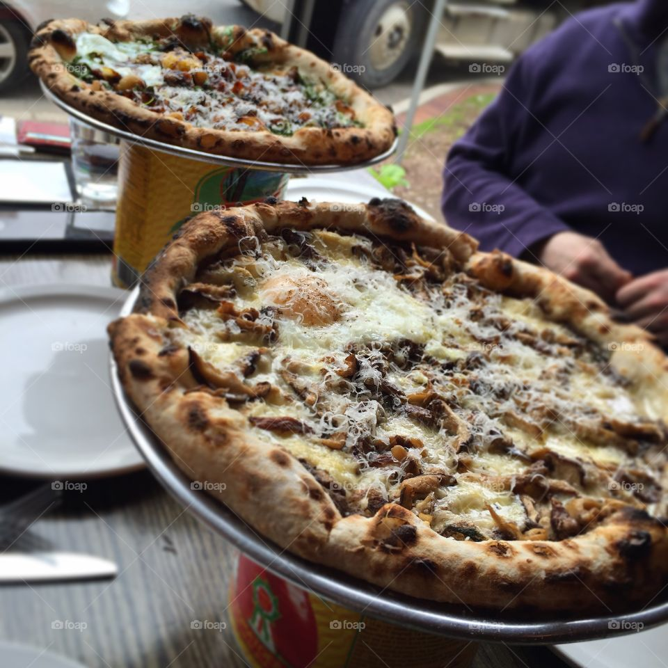 Mani Osteria. Some of the best Pizza on this planet. No joke