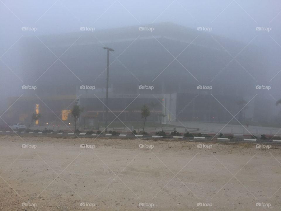 Серый туман
