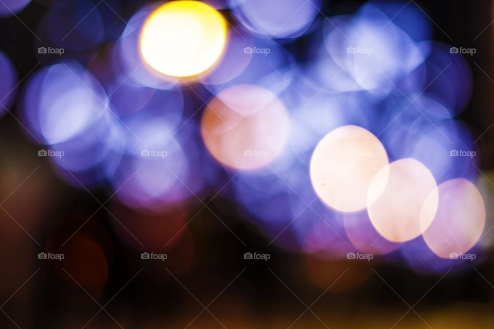 Blur, Christmas, Bright, Round Out, Color