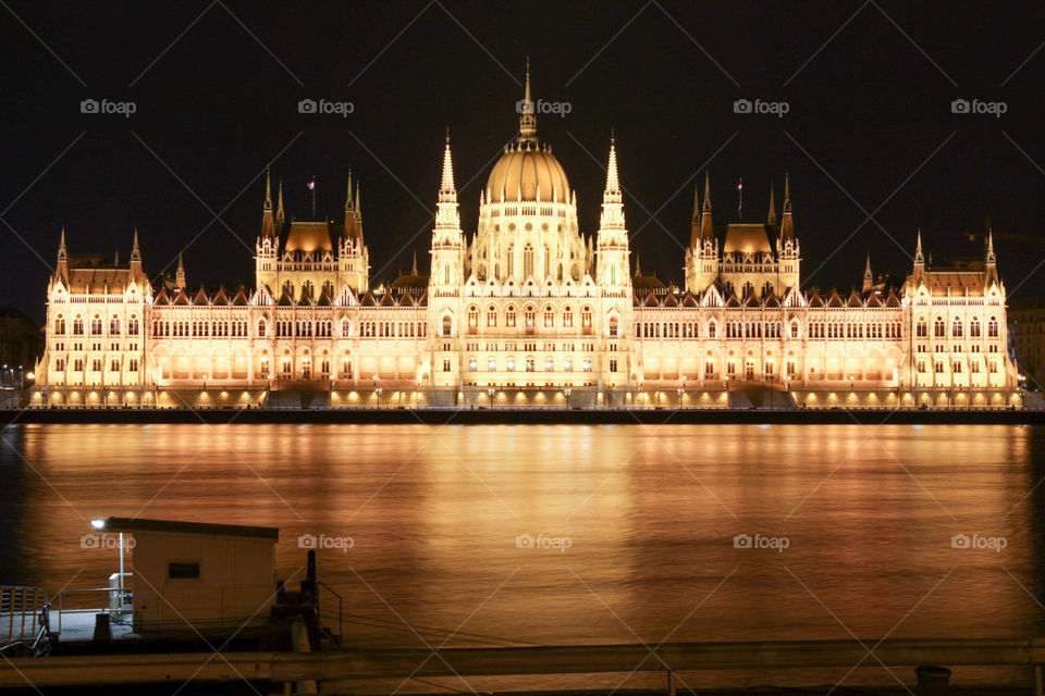 Architecture, Travel, River, City, Administration