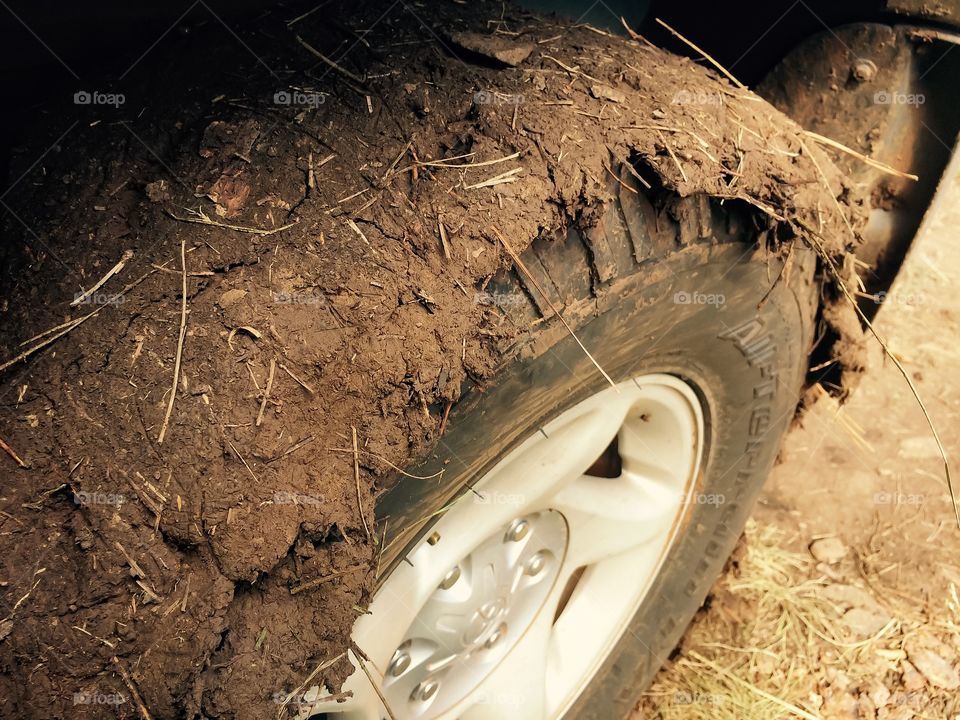 Mud on the Tire