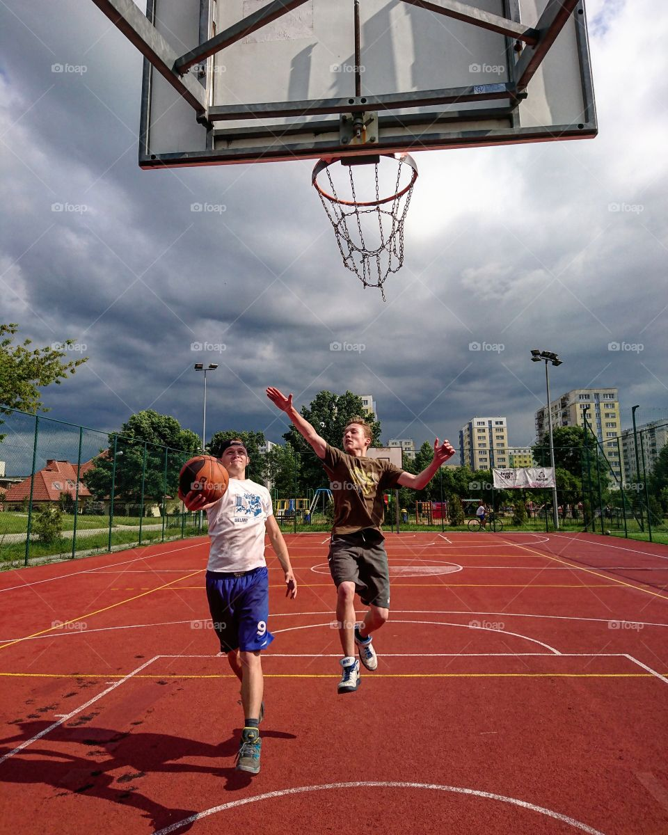 Basketball With Friends