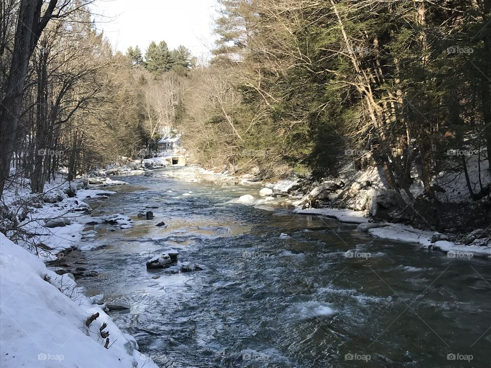 Green River in Vermont