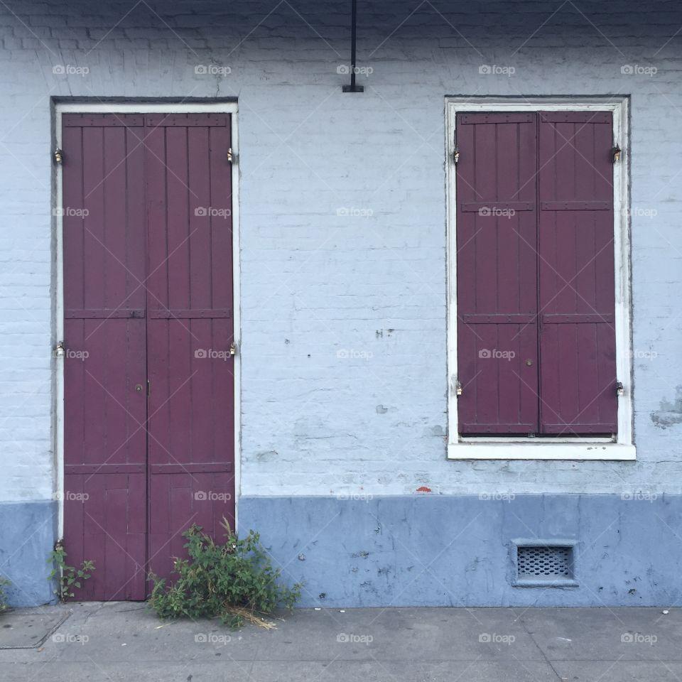 Door, House, Window, Entrance, Doorway