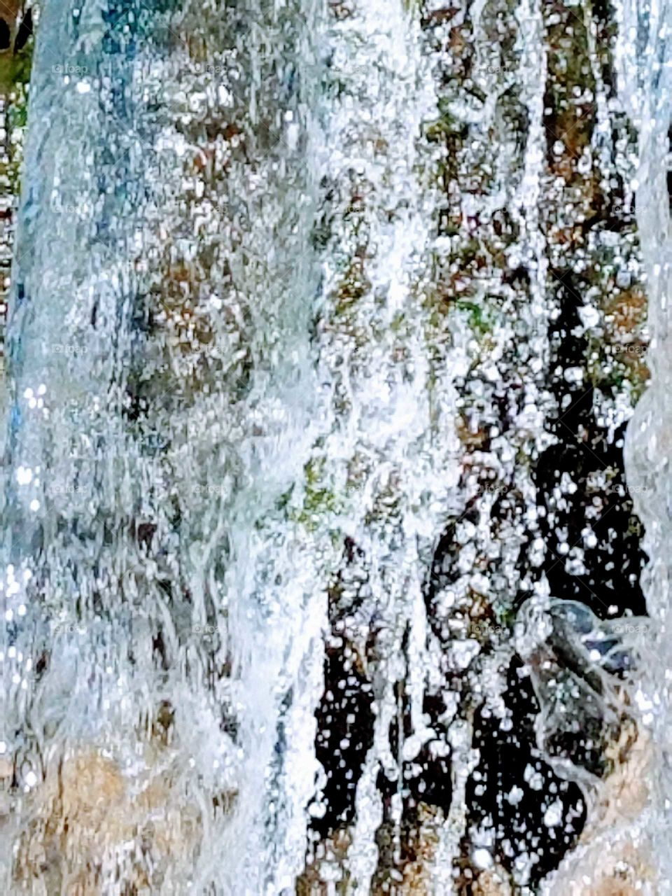 Abstract background of waterfall