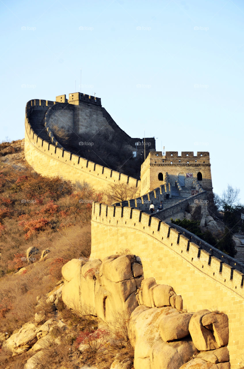 travel china great wall beijing by seasky